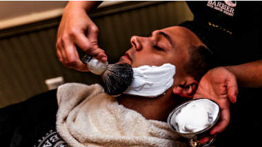 1740 Barbier: Haircuts, Shaves, & Scotch at L'Auberge Resort Lake Charles
